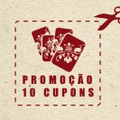 Junte 10 Cupons